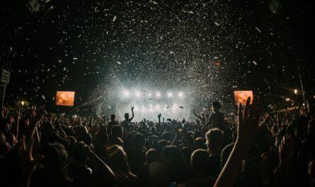 Takhle nějak vypadají nejznámější hudební festivaly.