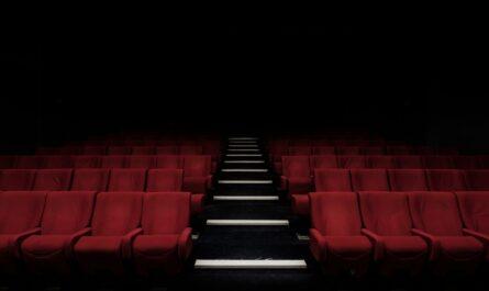 Filmový sál, kde proběhne předávání slavných cena zvaných Oskar.